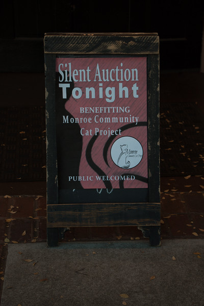 Monroe Community Cat Project Silent Auction