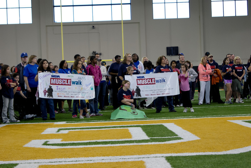 Muscle Walk for MDA<br /> Waco, Texas