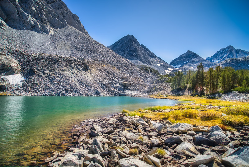 Chicken Foot Lake and Morgan Pass