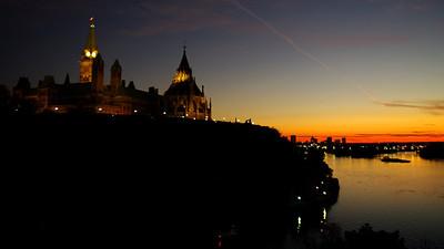 Parliament Hill Sunset
