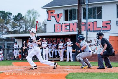 Broughton JV baseball vs. Fuquay Varina. April 2, 2018.