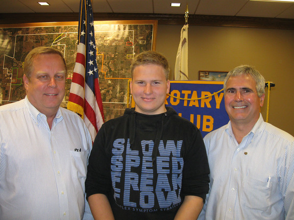 "Tinley Park-Frankfort Rotary Club welcomes exchange student.<br /> <br />    The Tinley Park-Frankfort Rotary Club welcomed a German exchange student to its meeting on Aug. 27.<br /> <br />    Sixteen-year-old Angelo Dalchow arrived in the United States two weeks ago and is staying with a host family in Mokena while attending classes at Lincoln-Way East High School.<br /> <br />    ""I love it here,"" said Angelo, who comes to Illinois from a small town near Berlin.<br /> <br />   The Orland Park Rotary Club is sponsoring Angelo's year-long visit, exposing him to American cultures and traditions. The goal is to help bring the world closer together by learning about one another's country, culture and ideas.<br /> <br />    ""It's been a great experience for my wife, my kids and myself,"" said Orland Park Rotarian Gerald Stoiber, who has opened his Mokena home to a number of exchange students through the years, including Angelo.<br /> <br />    ""They're exactly the same as our kids,"" he said.<br /> <br />    Each year, more than 7,000 youths travel to foreign lands through the Rotary Youth Exchange. Some stay for a few weeks. Others, such as Angelo, stay an entire year.<br /> <br />    Adjusting to a new country can be challenging.<br /> <br />    Angelo, who is accustomed to attending school with 600 other students, had to adjust to one that enrolls over 2,300 students.<br /> <br />    ""I thought my school was big,"" he said with a chuckle.<br /> <br />    More students mean more square footage to navigate between passing periods. <br /> <br />    ""It's complicated,"" he said of Lincoln-Way East's maze of classrooms, ""but I have a system."""