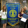 "Tinley Park-Frankfort Rotary welcomes Interact Club to fold:<br /> <br />   The Tinley Park-Frankfort Rotary Club welcomed a new youth group to its fold Thursday, Oct. 1, presenting a charter certificate to the Interact Club at Lincoln-Way North High School in Frankfort.<br /> <br />    ""It is my honor to recognize the newest extension of the Tinley Park-Frankfort Rotary Club,"" said Karen Wegryzn, an Assistant District Governor for Rotary District 6450. <br /> <br />    The Interact Club of Lincoln-Way North High School formed last year when the school first opened.  It provides youth, ages 14-18, an opportunity to work together in a world fellowship dedicated to service and international understanding.<br /> <br />    Goals include developing constructive leadership and personal integrity; practicing thoughtfulness and helpfulness to others; creating an awareness of the importance of home and family; and building respect for the rights of others, based on recognition of the worth of each individual.<br /> <br />    ""Interact is one of Rotary's fastest growing programs,"" said Wegryzn. ""With clubs in over 120 countries and geographical areas, Interact is truly an international phenomenon.""<br /> <br />    The Lincoln-Way North Interact Club has been involved in a number of community service projects since its formation last year under the guidance of Lincoln-Way North teacher Amy Madonia, the club's sponsor. Students are currently planning a food drive and a visit to an area nursing home where they will play Bingo with the residents.<br /> <br />    ""Every Interact club project, great or small, has a lasting impact on society worldwide,"" said Wegryzn.<br /> <br />    ""Thank you for your dedication and service,"" added Steve Purucker, president of the Tinley Park-Frankfort Rotary Club."