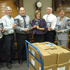"Tinley Park-Frankfort Rotary donates 360 dictionaries <br />  <br />   Thanks to a donation by the Tinley Park-Frankfort Rotary, third-graders in Harvey School District 152 will have a resource tool of their own to turn to when looking up word spellings, facts about the planets or maps of the seven continents.<br />  <br />    The Tinley Park-Frankfort Rotary Club recently donated dictionaries to every third-grader in the district.  The dictionaries are so multi-faceted, with sections about weights and measurements, biographies of the U.S. presidents and copies of the Declaration of Independence and U.S. Constitution, that Rotarians decided to donate a collection to English Language Learners (ELL) and English as Second Language (ESL) students at Tinley Park High School.<br />  <br />    ""Literacy has always been an important issue for Rotary International. At the local level, this project allows us to make an impact on those who live right here in our own back yard,"" said Karen Wegrzyn, president of the Tinley Park-Frankfort Rotary Club.<br /> <br /> <br /> Tinley Park-Frankfort Rotary club members John Lachat, Steve Purucker, Tim Reilly, Margaret Semmer, Sean Brady, Karen Wegrzyn and Dave Brost hold up some of the dictionaries the service club donated to 630 students in Harvey and Tinley Park."