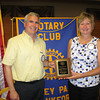 "Changing of the Guard:<br /> Tinley Park-Frankfort Rotary Club installs new president.<br /> <br />    A new leader has taken the helm of the Tinley Park-Frankfort Rotary Club.<br /> <br />    Steve Purucker, an engineer for Panner Sales in Frankfort, was installed Thursday, June 25, as president of the Tinley Park –Frankfort Rotary Club. He replaces Karen Wegryzn who held the post for two years and was tapped to become an Assistant District Governor for Rotary District 6450.<br /> <br />    ""It's an honor to be part of a worldwide organization that is recognized for its humanitarian work,"" said Purucker. ""I hope to continue many of the initiatives started under Karen – especially our goals of growing our membership and raising our profile in both the Tinley Park and Frankfort communities."""