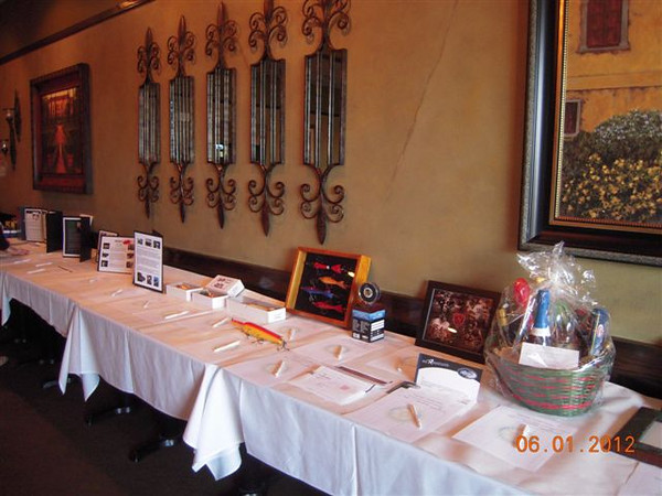Rotary Club Wine Tasting Event on June 1, 2012:<br /> Some of the additional Silent Auction prize's to be bid on included Sports Photo's and tickets.