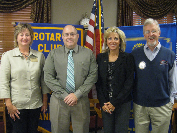 """Tinley Park-Frankfort Rotary Club membership grows<br /> <br />    The Tinley Park-Frankfort Rotary Club inducted two new members. They are Janelle Witry, a personal banker with Old Plank Trail Bank, and Tim Reilly, director of instruction for Lincoln-Way High School District 210.<br /> <br />    """"Janelle and Tim will undoubtedly be tremendous assets to our club,"""" said Karen Wegrzyn, Assistant District Governor for Rotary District 6450. """"They are both long-time community residents, and like other Rotarians, are looking to help those who are less fortunate. We're very excited to have them join us."""""""