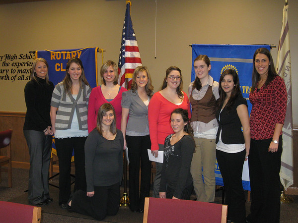 "Interact clubs busy helping others...<br /> <br />    The Interact clubs at Lincoln-Way East and Lincoln-Way North high schools have been busy assisting others, collecting items for an area soup kitchen and visiting residents at local nursing homes.<br /> <br />    ""It makes us feel good about ourselves,"" said Karisa McInnis, the Interact Club president at Lincoln-Way East High School.<br />  <br />    The clubs, sponsored by teachers Betsy Dugan (at East) and Amy Madonia (at North), meet regularly to organize community service projects, social functions and fund-raising projects. They serve as a service partner to the Tinley Park-Frankfort Rotary, which participates in a broad range of humanitarian, intercultural and educational activities designed to improve the human condition locally, nationally and globally.<br /> <br />    The student clubs recently sent their presidents, vice presidents, secretaries and treasurers to a Tinley Park-Frankfort Rotary club to update members on some of the projects they have been working on.<br /> <br />    Rotarians were impressed to learn that the student groups have been busy collecting pop tabs for the Ronald McDonald House, picking up trash along community bike trails and participating in such fundraisers as Relay for Life.<br /> <br />    ""I couldn't be more amazed than I am by these students,"" commented Karen Wegrzyn, President of the Tinley Park-Frankfort Rotary Club. ""These students some how find the time to visit with nursing home residents, and work at soup kitchens and so many other great projects; they are the epitome of the Rotary motto, 'Service Above Self.'"""