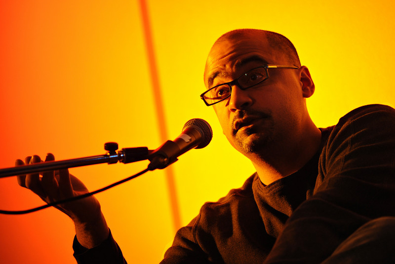 Pulitzer prize winning author Junot Diaz at the 2008 Ottawa Writers Festival