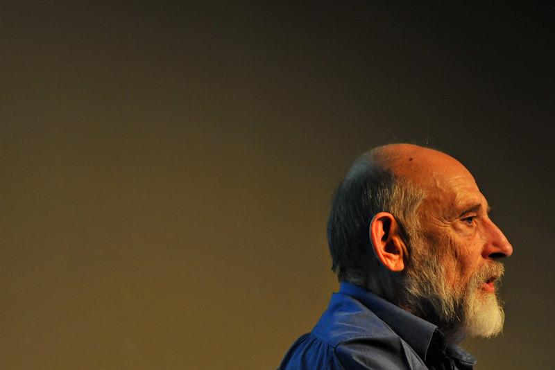 Professor of Physics Leonard Susskind speaking at the Ottawa Writers Festival 2008