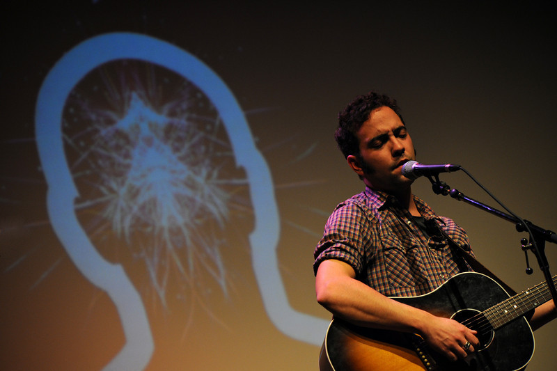 Justin Rutledge performs at the Ottawa Writers Festival 2008