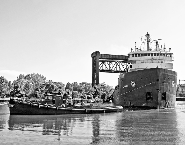 Tug and Freighter