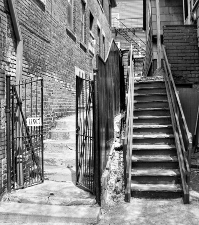 Stairs Gate Little Italy
