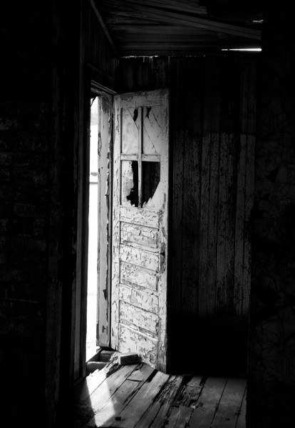Traing Bldg Old Door