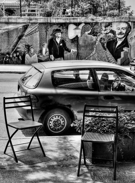 Mural Car Little Italy