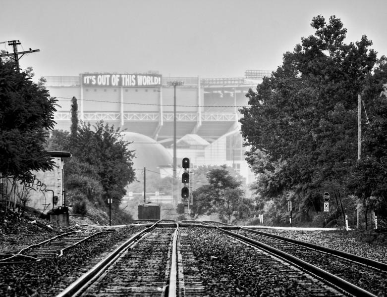 Tracks Browns Stadium