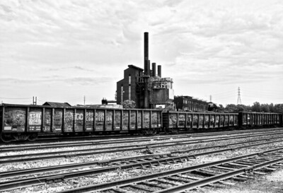 Steel Mill Train Cars