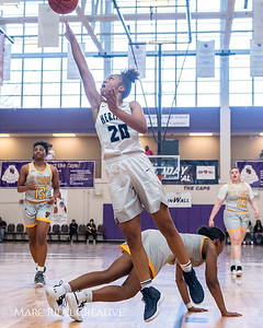 Heritage women's basketball vs St. Fances. John Wall Holiday Invitational championship game. December 29, 2018. MRC_9464