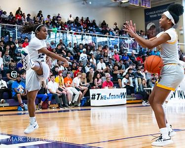 Heritage women's basketball vs St. Fances. John Wall Holiday Invitational championship game. December 29, 2018. MRC_9468