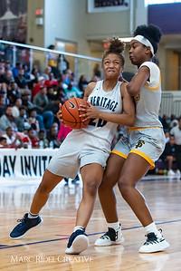 Heritage women's basketball vs St. Fances. John Wall Holiday Invitational championship game. December 29, 2018. 750_0060