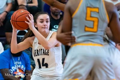 Heritage women's basketball vs St. Fances. John Wall Holiday Invitational championship game. December 29, 2018. 750_0089