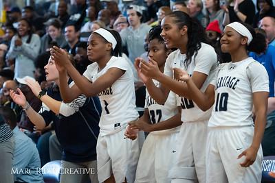 Heritage women's basketball vs St. Fances. John Wall Holiday Invitational championship game. December 29, 2018. 750_0164