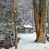 Winter At The Blacksmith Shop