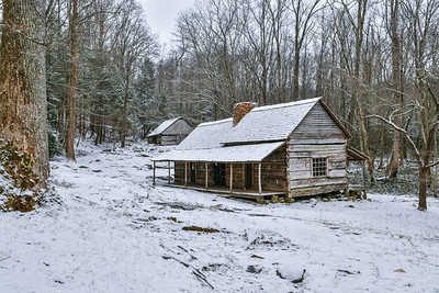Snowfall At Noah's