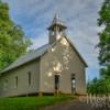 Cades Cove Methodist Church Summer