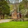 The Oliver Cabin In Spring