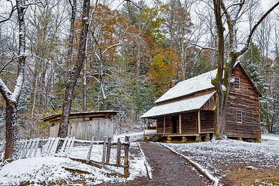Frozen Tipton Cabin