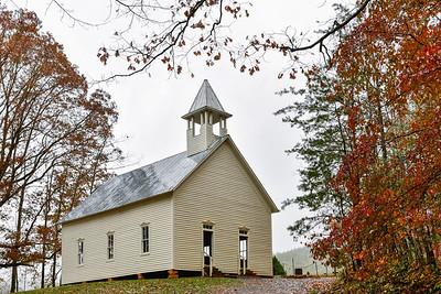 Fall At The Methodist Church