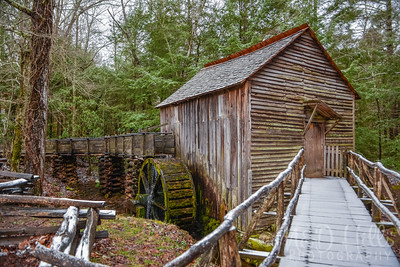 Light Dusting At The Grist Mill