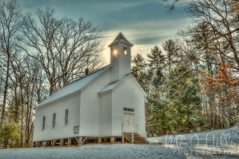 Cades Cove Missionary Baptist Church - Winter
