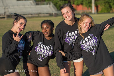 Broughton Lady Caps compete in the 2017 Homecoming Powderpuff games. October 3, 2017.