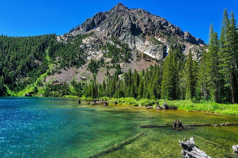 Gabro Peak and Green Lake