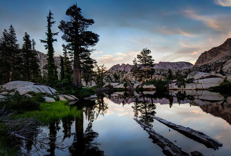 Twilight at Peeler Lake