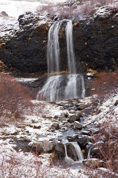 Hvalfjordur Waterfalls