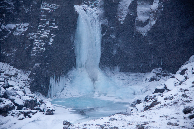 Highway 85 Waterfall