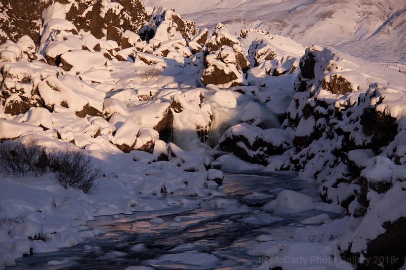 Pingvellir Waterfalls