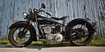 12x24 Indian Motorcycle