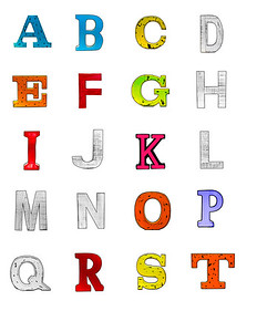 By Sonja McGiboney-letters for activity.  Print and cut out.