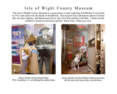 Jazzy Explores Smithfield page 4 IoW museum