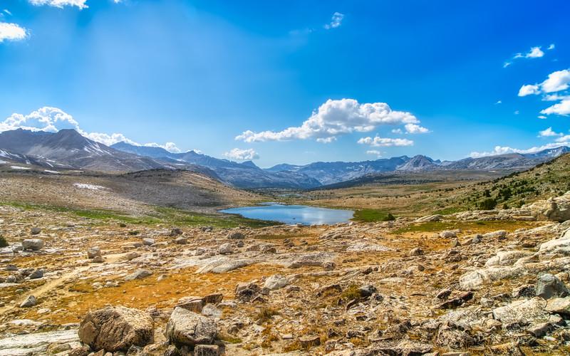 Summit Lake from Piute Pass