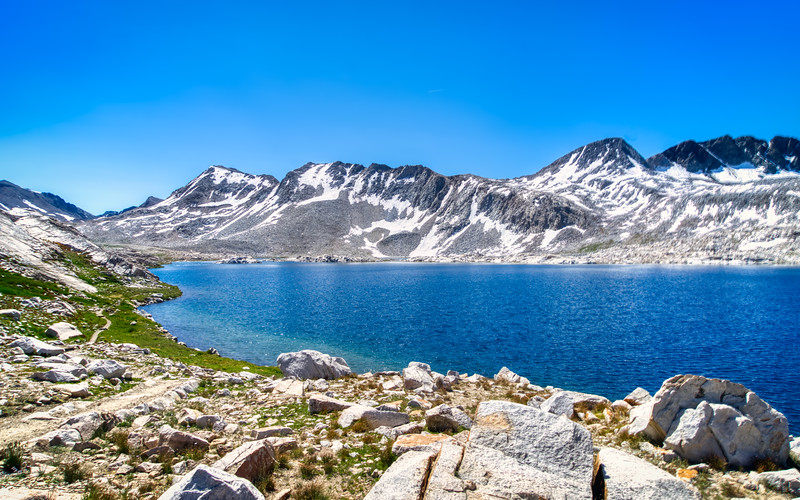 Wanda Lake and Muir Pass