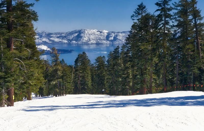 Ridge Run and Lake Tahoe