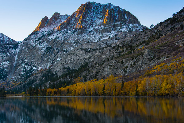 Fall Sunrise, Silver Lake, Mono County, CA