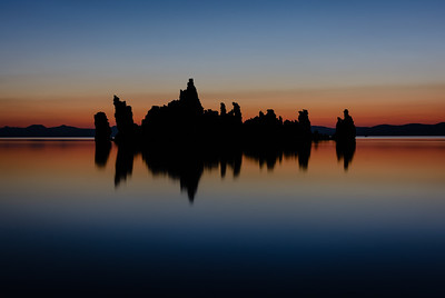 South Tufas At Dusk, Mono Lake