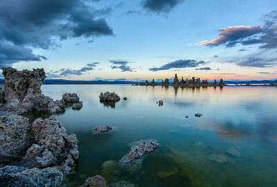 Mono Lake Tufa Towers, Mono County, CA