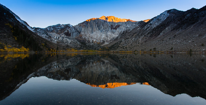 Fall Sunrise, Convict Lake, Mono County, CA